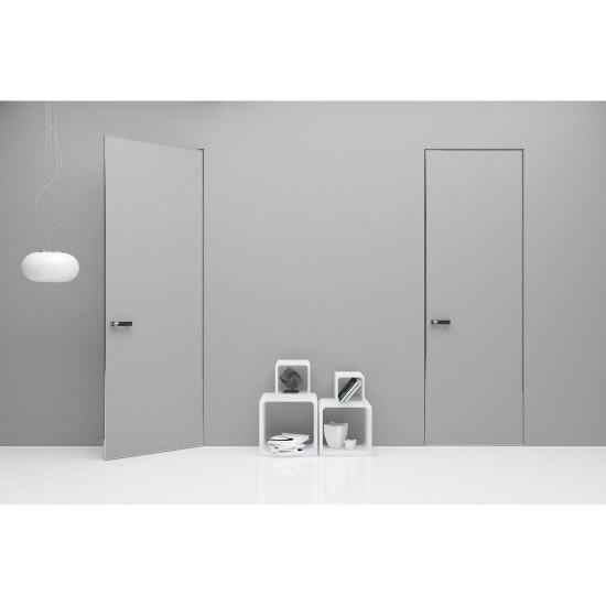 INVISIBLE DOORS with aluminium edges