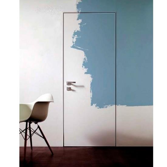 Slēptas durvis krāsošanai alumīnija rāmis