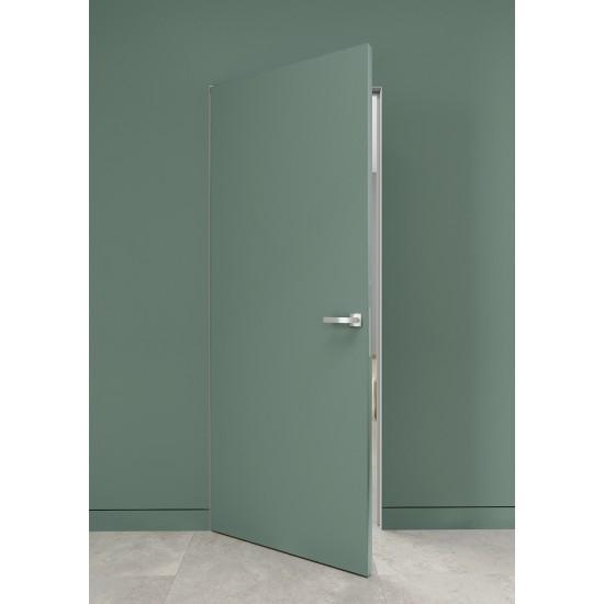 Slēptas durvis matēta emalja 2100mm
