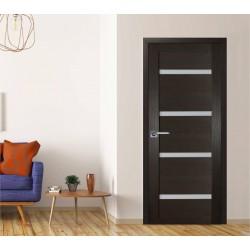 Durvis ar PVC pārklājumu modernā stilā