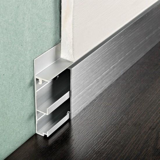 Aluminum skirting board Channel