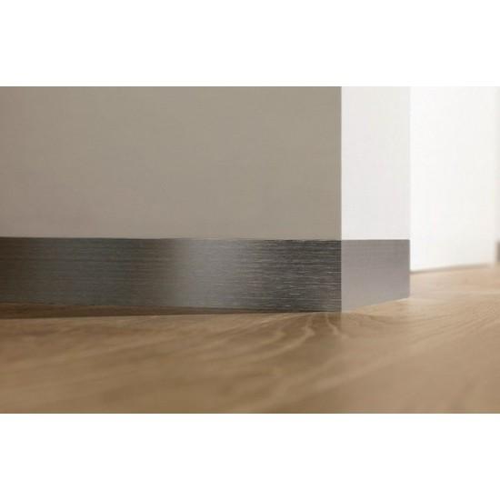 Aluminum skirting board Flat