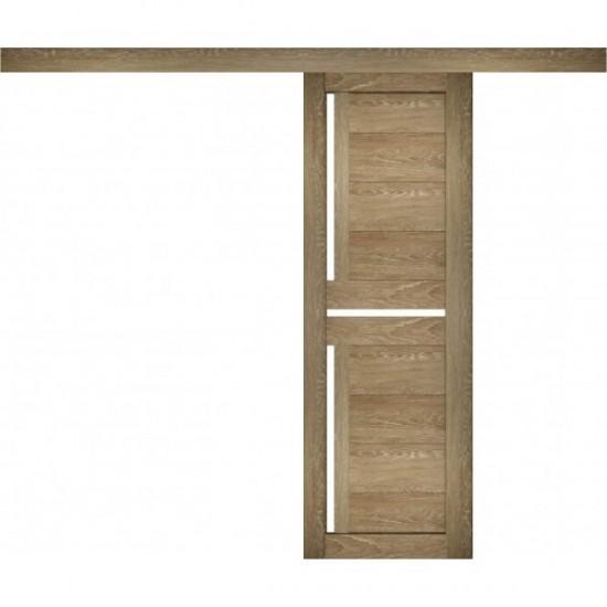Sliding door with PVC coating Amaretto 18