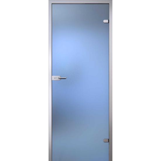 Stikla durvis Gaiši balta matēta