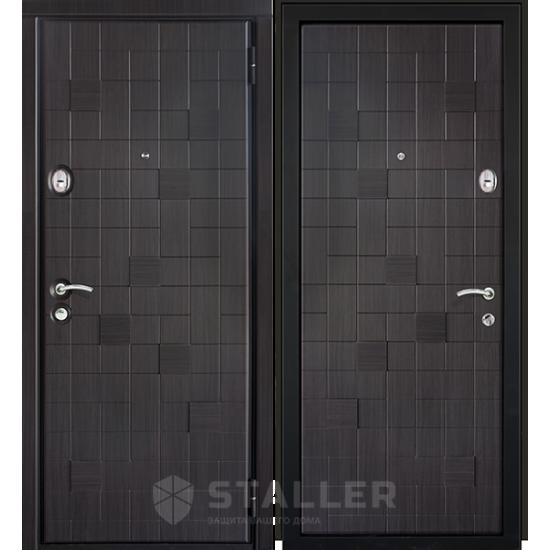 Metāla durvis dzīvoklim METRO